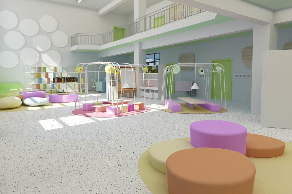 Progetto Fare Scuola - Agorà e spazio informale