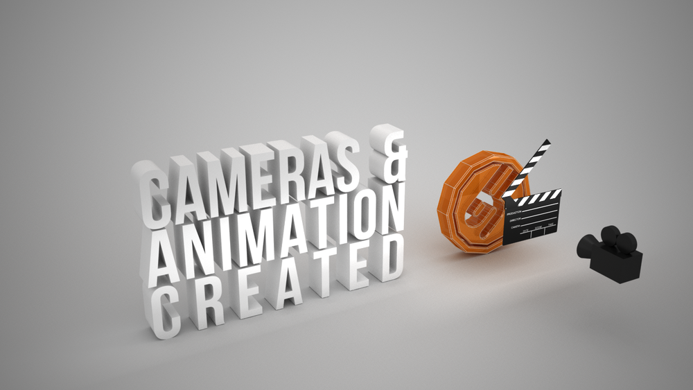 "Animation and cameras are also added to the scene if required, movies tend to be outputted at 30 frames per second. Animating and outputting movies can take up quite a lot of time to output. A 10 second movie has 300 frames @ 30 fps. So if each frame takes 1 minute to render the 10 second movie could take 1 computer 5 hours to output. To speed up this process we can send the 3D file to various computers to be rendered, this is normally called a render farm. This dramatically speeds up the process, for example using x8 computers to output the above would reduce the render time from 5 hours to 38 minutes.  This also enables us to carry on using the main computer while the other computers ""Render Farm"" are busy outputting the files."