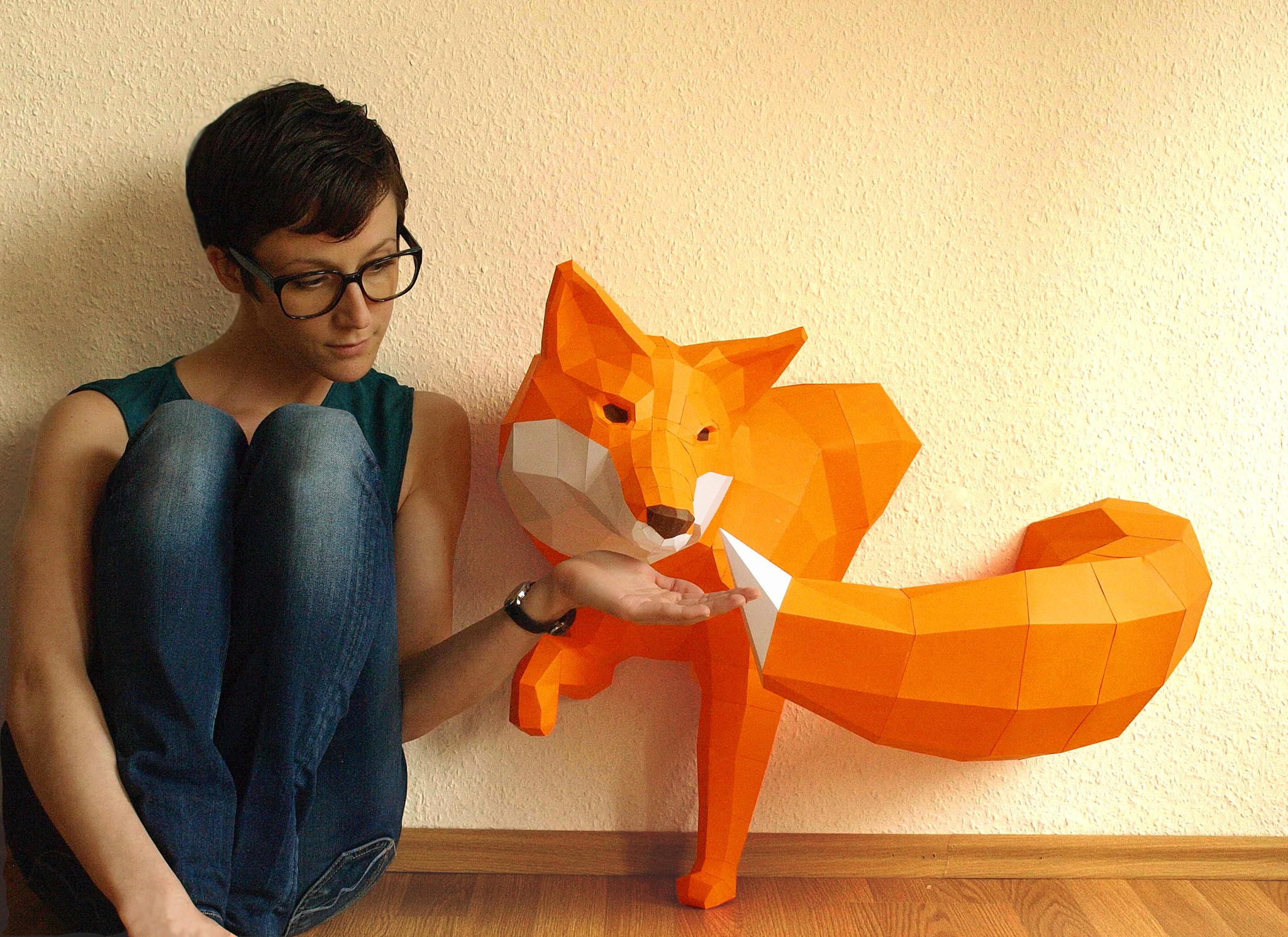 Paperwolf sly mr fox jeuxipadfo Image collections