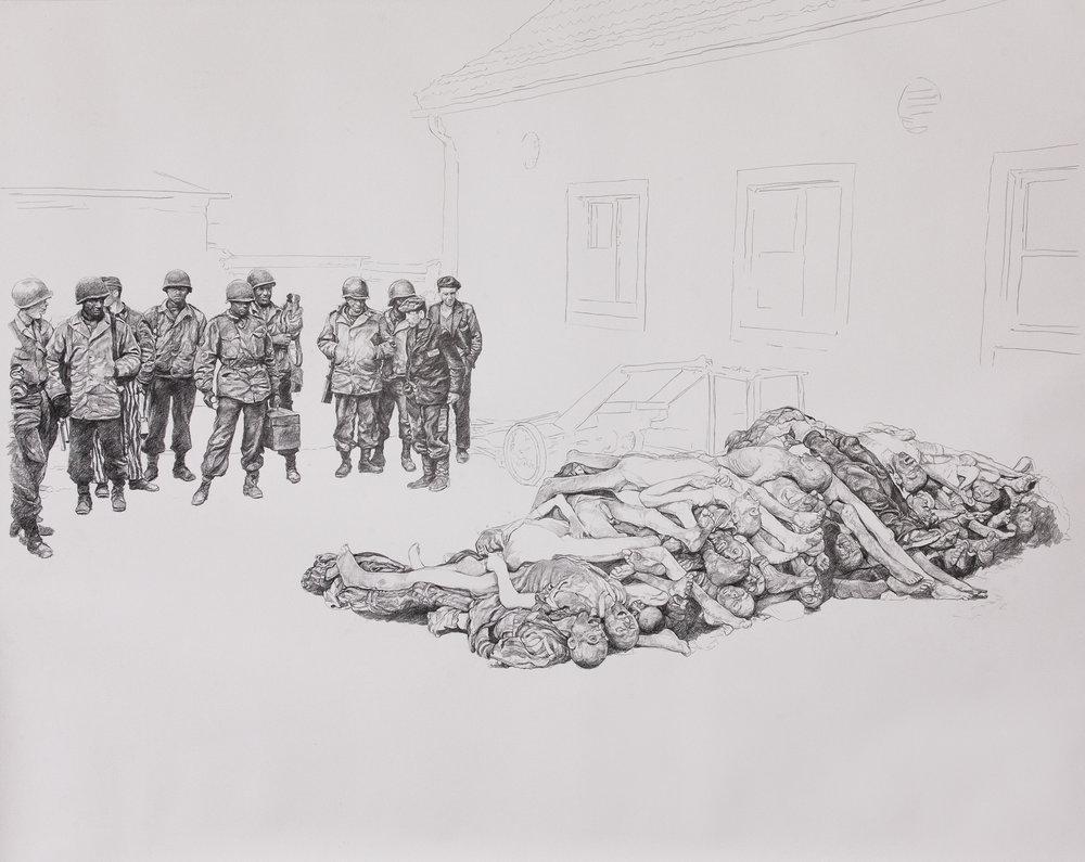 Barbara Walker, Buchenwald , 2016