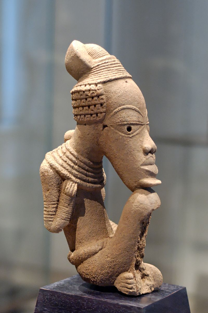 Nok Terracotta Sculpture (1,500BC - 500AD)