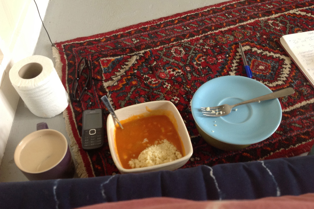 In my lowest moment, Heinz vegetable soup and couscous offered me comfort.