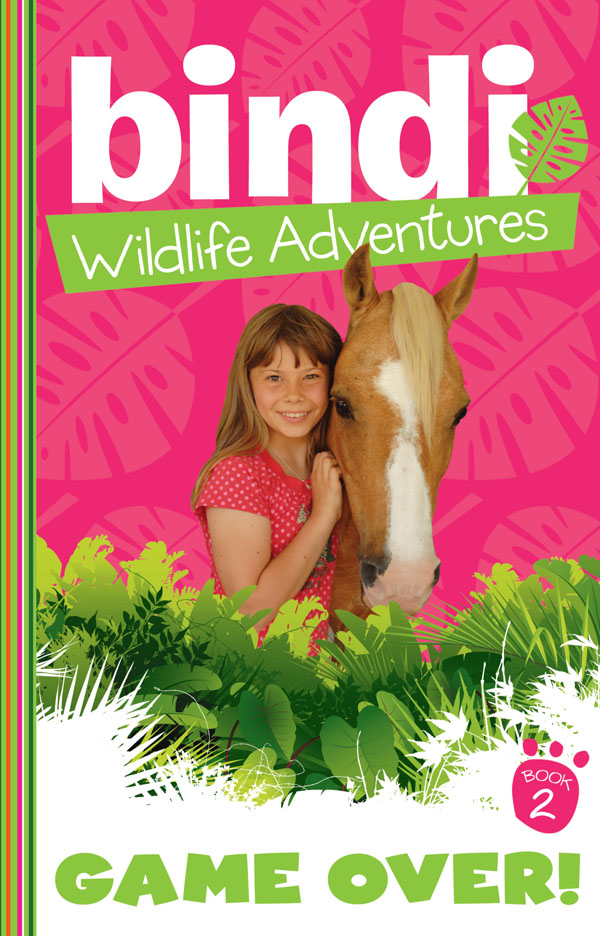 Bindi Wildlife Adventures 2: Game Over! Bindi and her South African friend, Hannah, are on a horse-riding trek of a lifetime in South Africa, when they discover that the supposed breeding sanctuary for the giant sable antelope is actually looking more like a game reserve for rich tourists with big guns. But the girls get found out spying, and may not get a chance to tell anyone what's really going on!