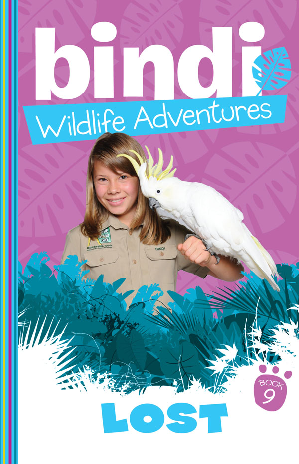 Bindi Wildlife Adventures 9: Lost! When a German tourist goes missing in the outback, volunteers are called in to help search Kakadu National Park. Bindi and her Aboriginal friend DJ decide to take a different route when they spot a sulphur-crested cockatoo that seems to want to show them something. The cocky leads them to the grateful tourist but the cockatoo seems to have disappeared. And they need it to help find their way back . . .
