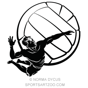 male beach volleyball spike design sportsartzoo female clip art engineers female clip art outline