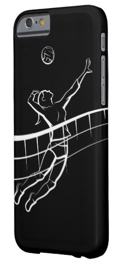 Volleyball Spike Female</BR> Barely There iPhone 6 Case