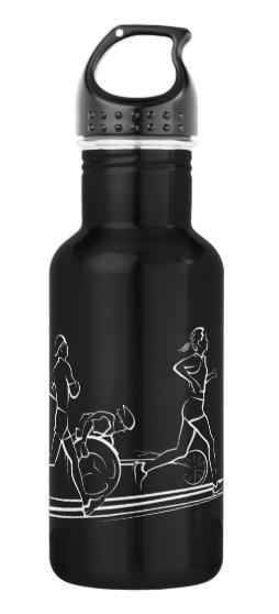 Marathon Runners Water Bottle