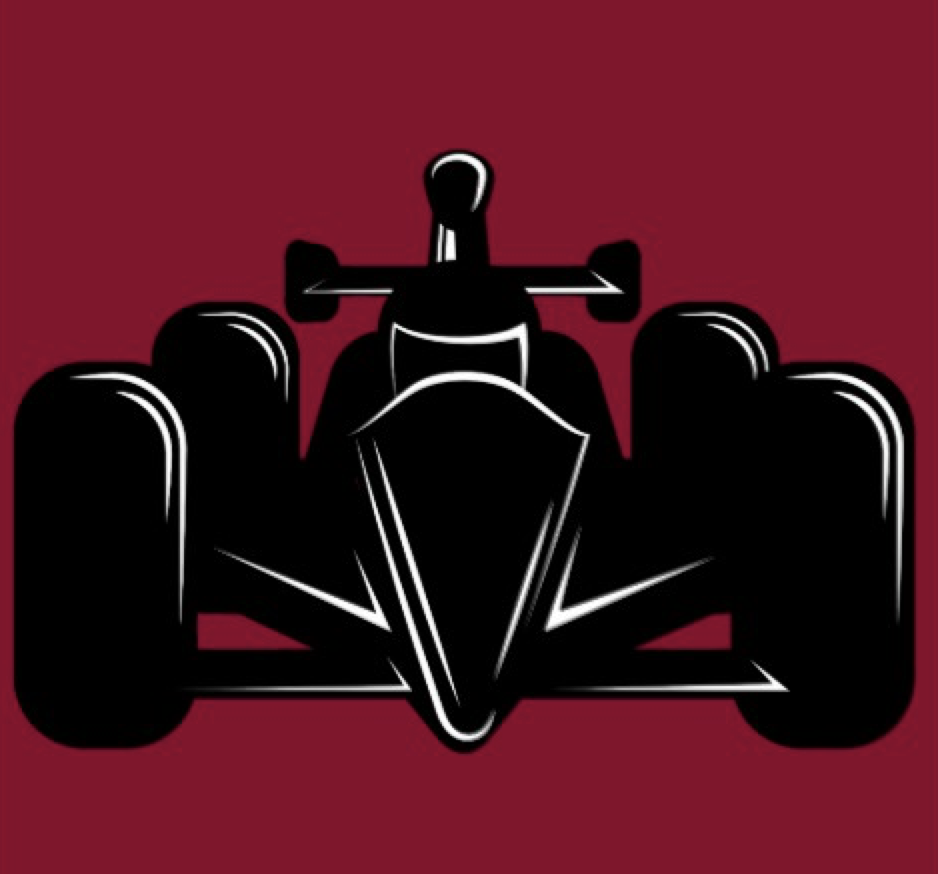 Indy Style Race Car Wall Decal