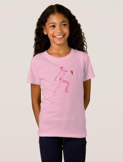 Pink Ribbon Softball Pitcher T-Shirt