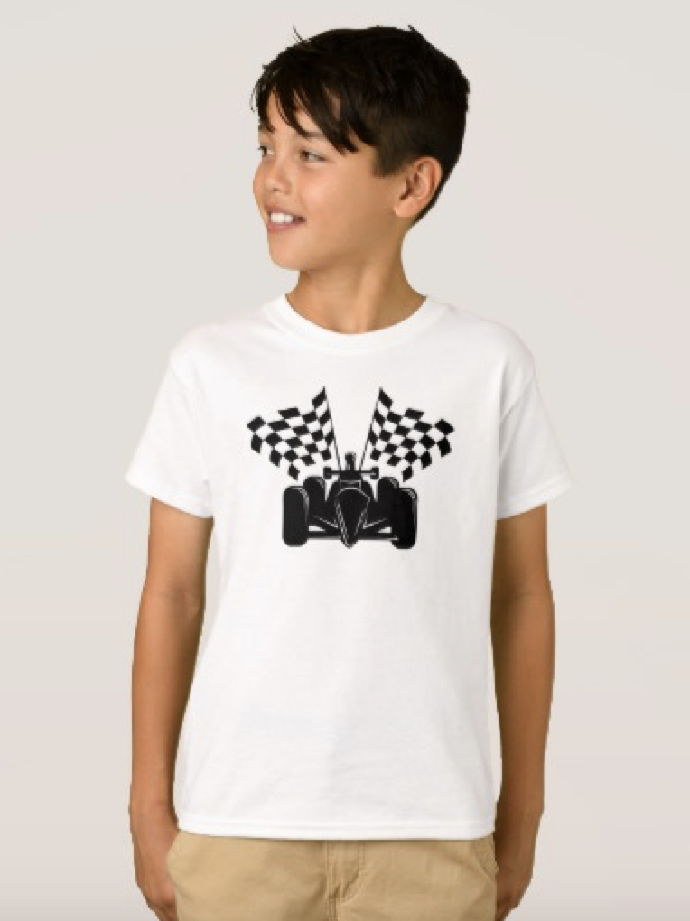 Indy Style Race Car T-Shirt