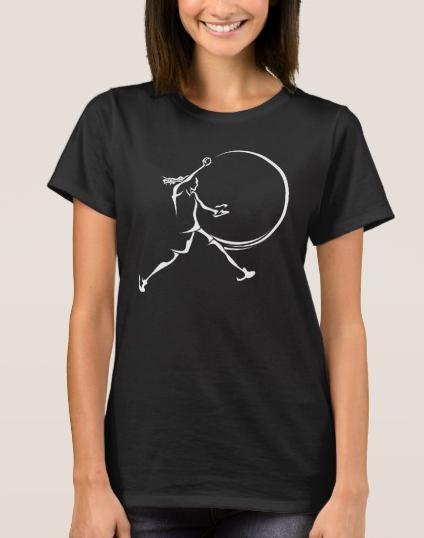 Softball Pitcher T-Shirt