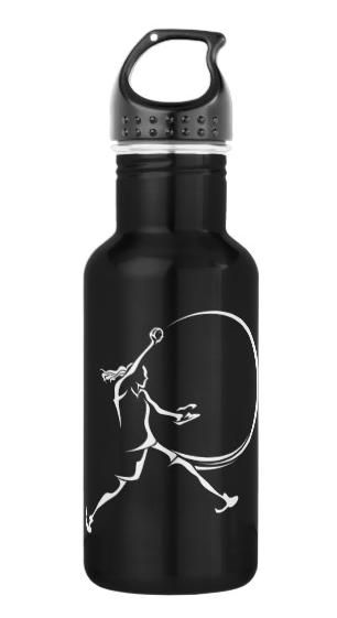 Softball Pitcher Water Bottle