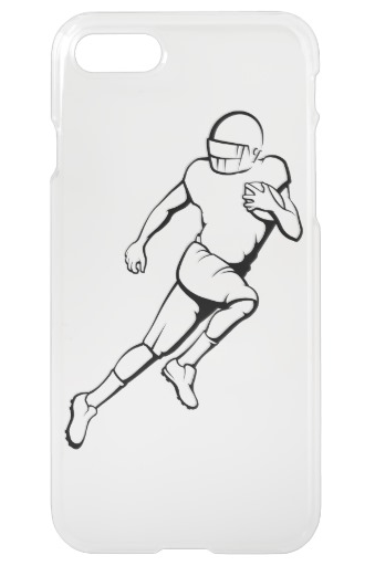 American Football Running Back iPhone 7 Case