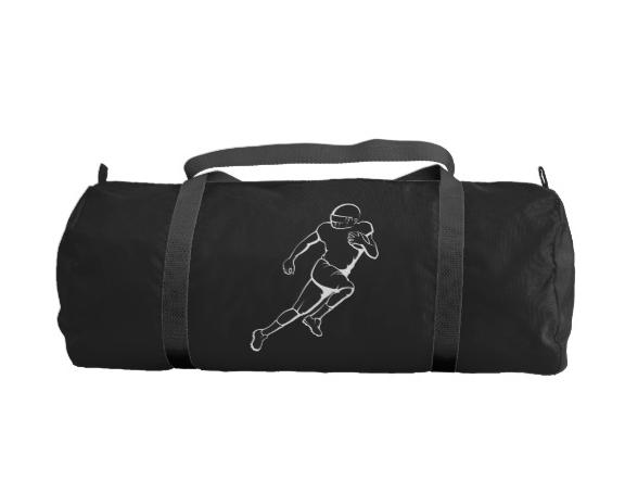 American Football Running Back Duffle Bag