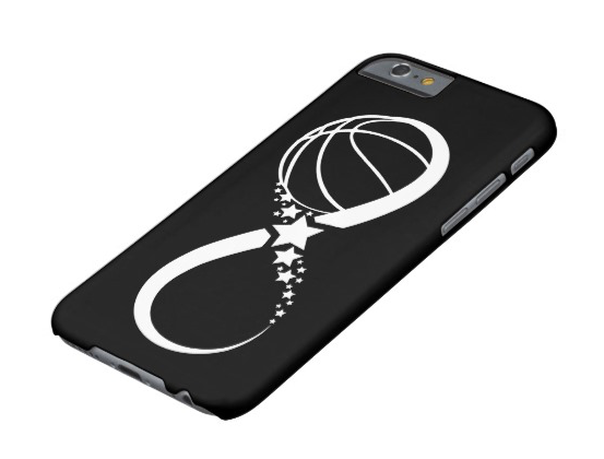 Basketball Star Infinity iphone Case