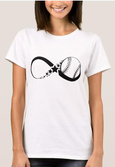 Softball Infinity t-shirt