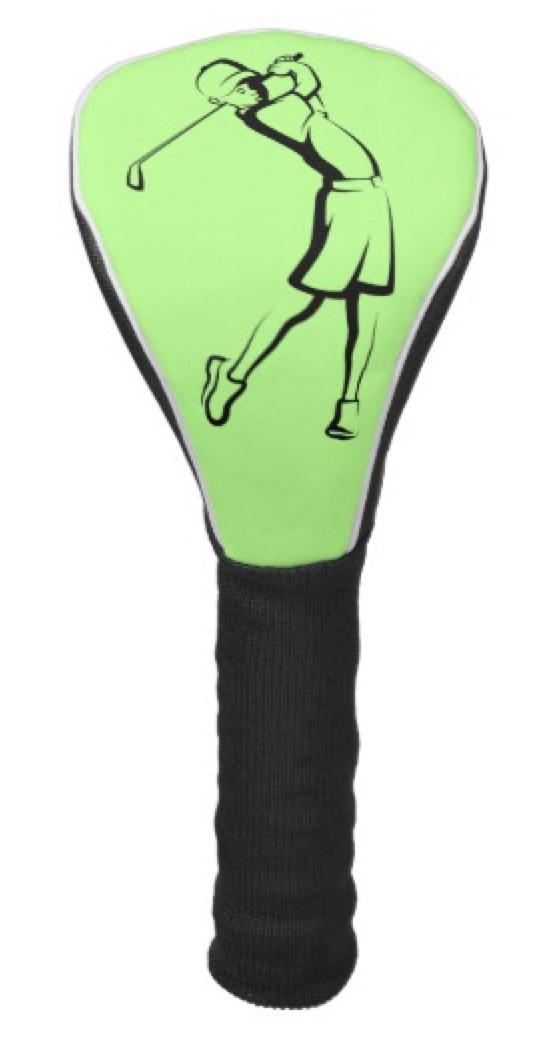 Boy Golfer Golf Head Cover