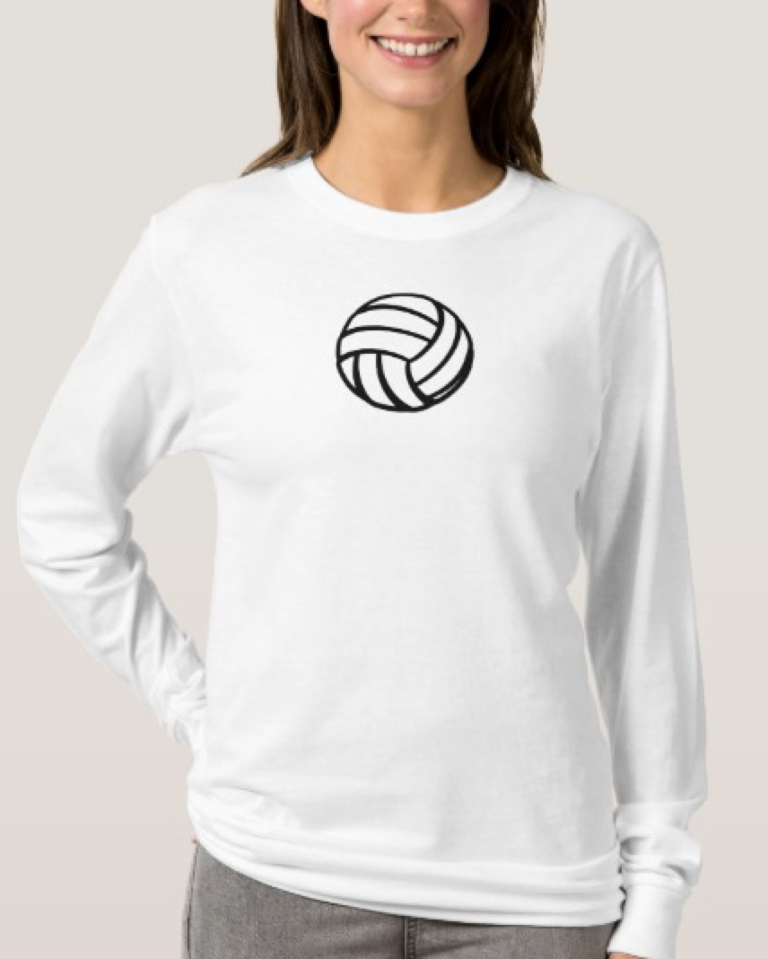 Volleyball Infinity Love Long Sleeve T-Shirt