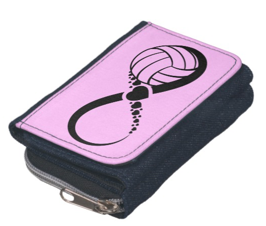 Volleyball Infinite Love Wallet Coin Purse