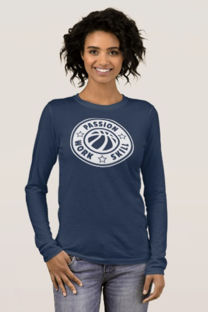 Volleyball Passion, Work Skill Long Sleeve T-Shirt