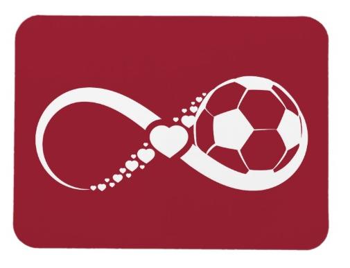 Soccer Infinite Love Magnet