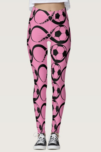 Soccer Infinite Love Leggings