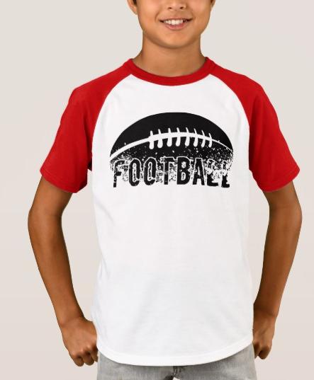 Football Grunge T-Shirt