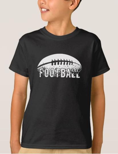 Grunge Football T-Shirt