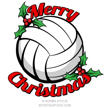 volleyball merry christmas sportsartzoo free xmas clipart garland free xmas clipart funny