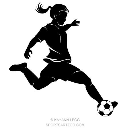 girl soccer player highlighted silhouette sportsartzoo girl baseball player clipart Girl Dribbling Basketball Clip Art