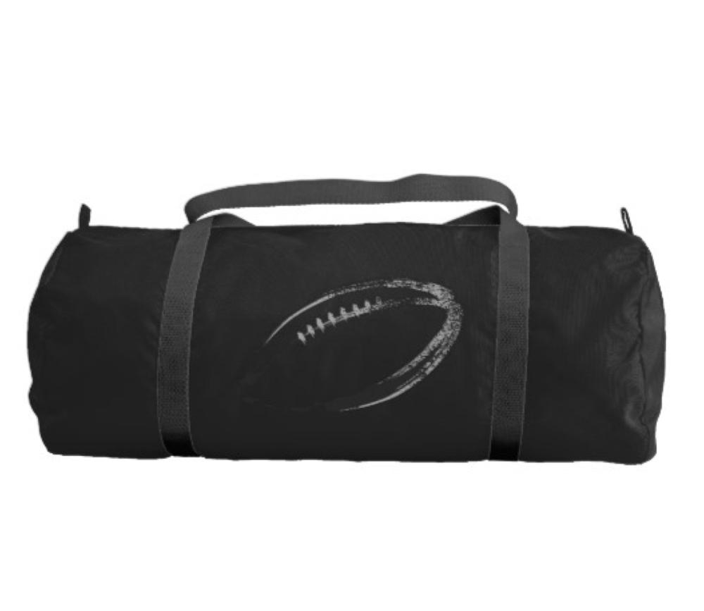 Grunge Style Football Design Gym Bag