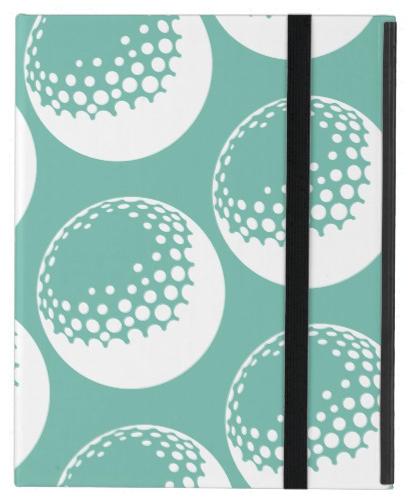 Golf Ball iPad Case
