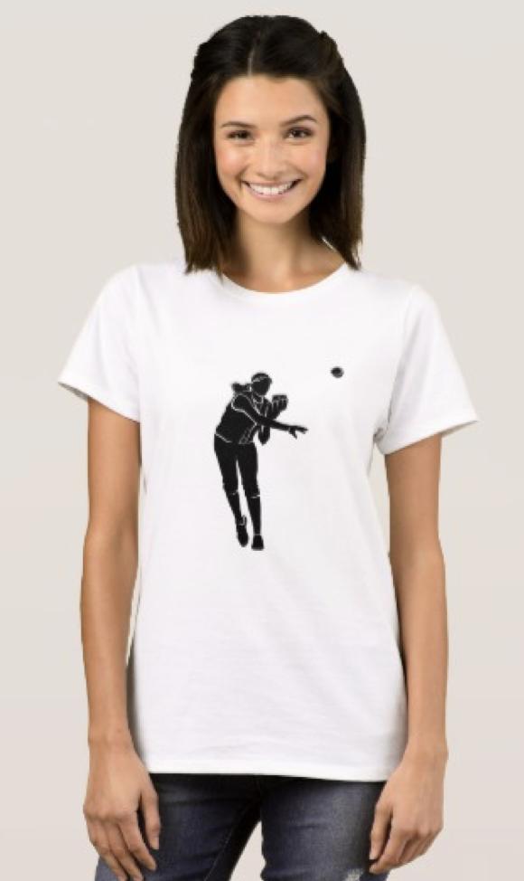 Softball Throw T-Shirt