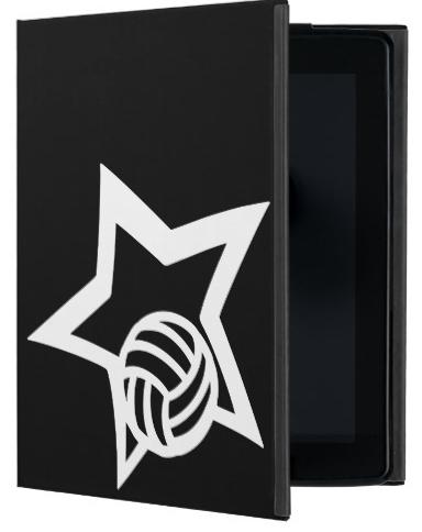 Volleyball Star iPad Folio Case