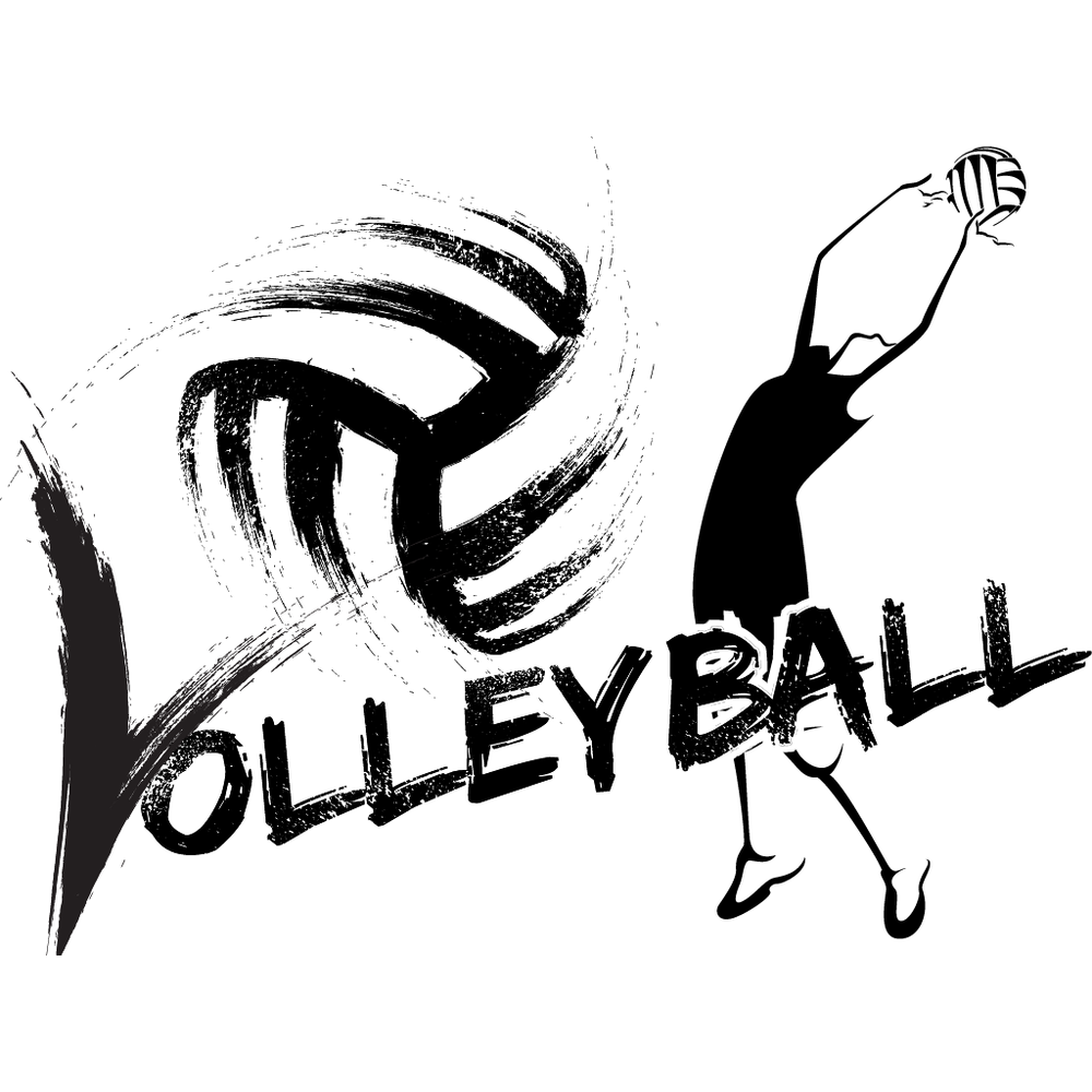 Female Volleyball Sticker Megapack