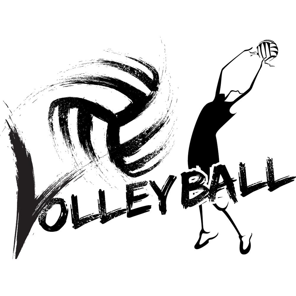 Female Volleyball Sticker Megapack