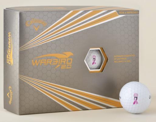 Breast Cancer Awareness Golf Balls