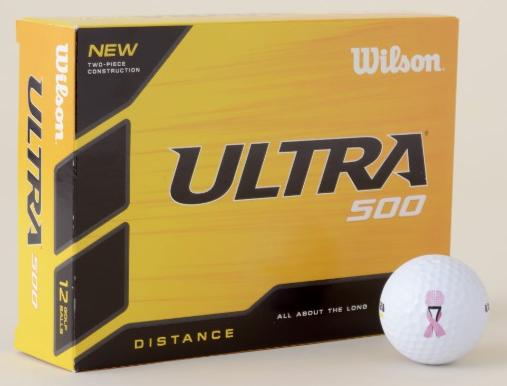 Golf Breast Cancer Golf Balls