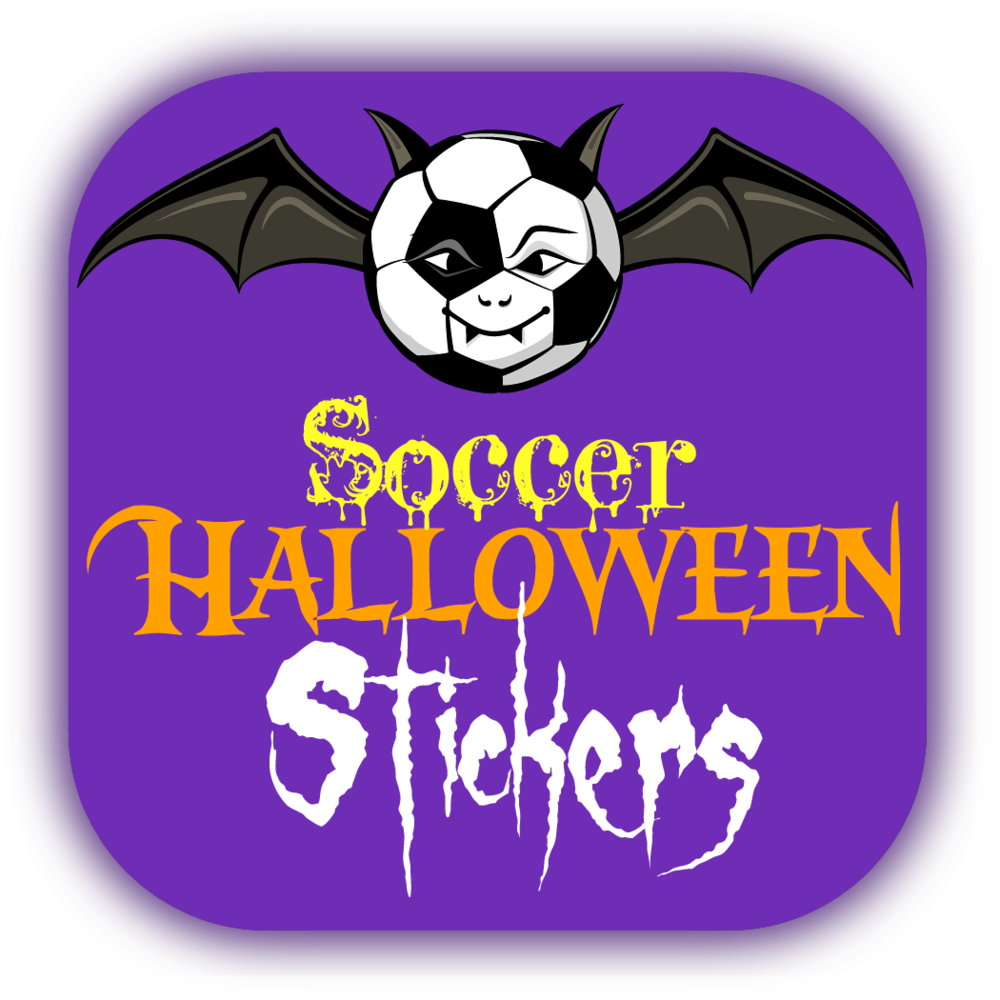 Soceer Halloween Stickers