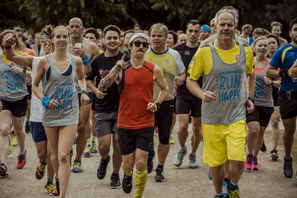 Brooks Run Happy Tour 2017 Düsseldorf