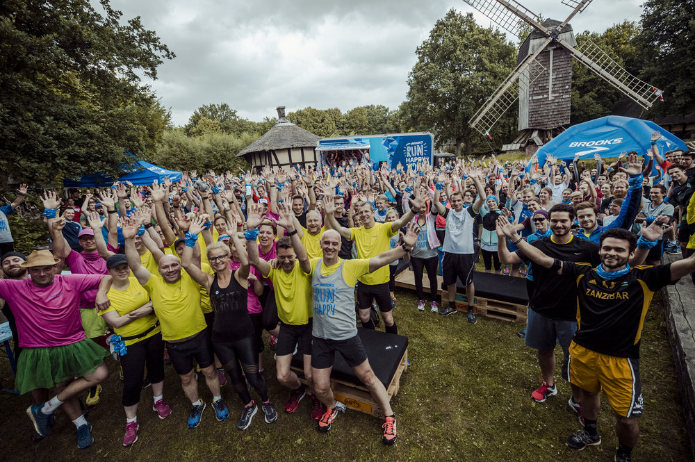 Brooks Run Happy Tour 2017 Münster