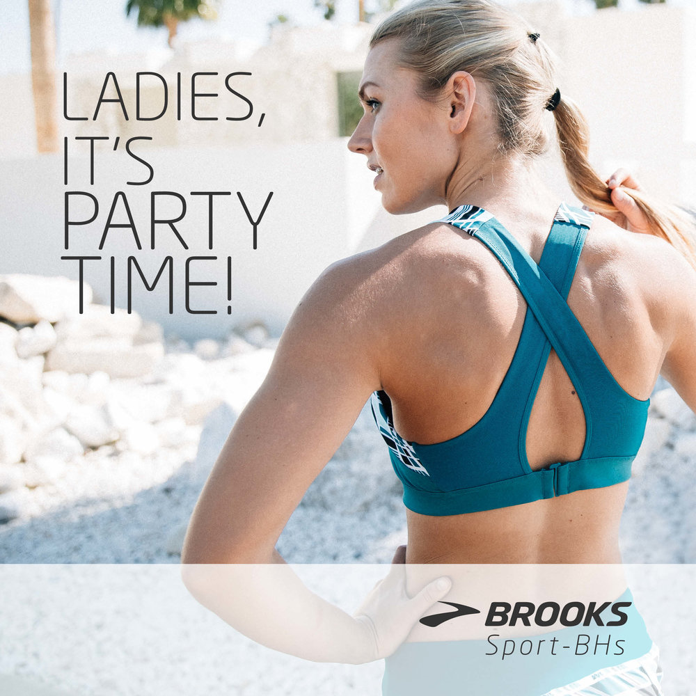 A Brooks Bra for every body!