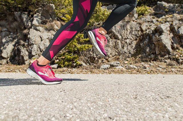 Der neue #Levitate2 gibt dir noch mehr Energie, Schritt für Schritt! 😍🎉 #brooksrunningde #runhappy #levitate2