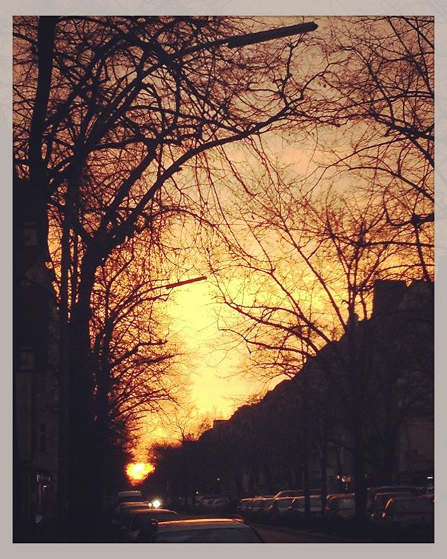 ⛅️Sunrise @ #sonnenallee #berlin, Sanne is on the way back to #holland to play in #heerlen #maastricht and #amsterdam. Check www.evensanne.com/agenda for more info.