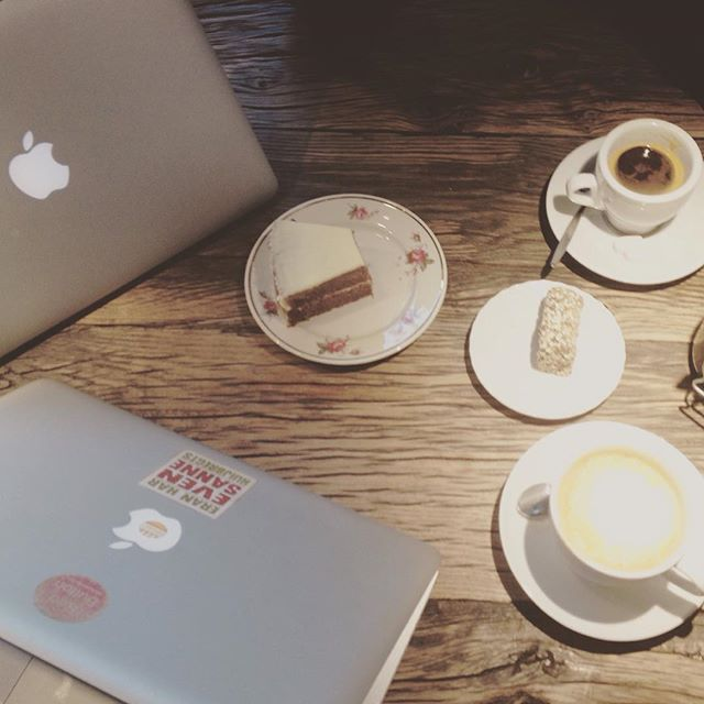 Apples and Coffee: productive day in the EvenSanne-Office 👯