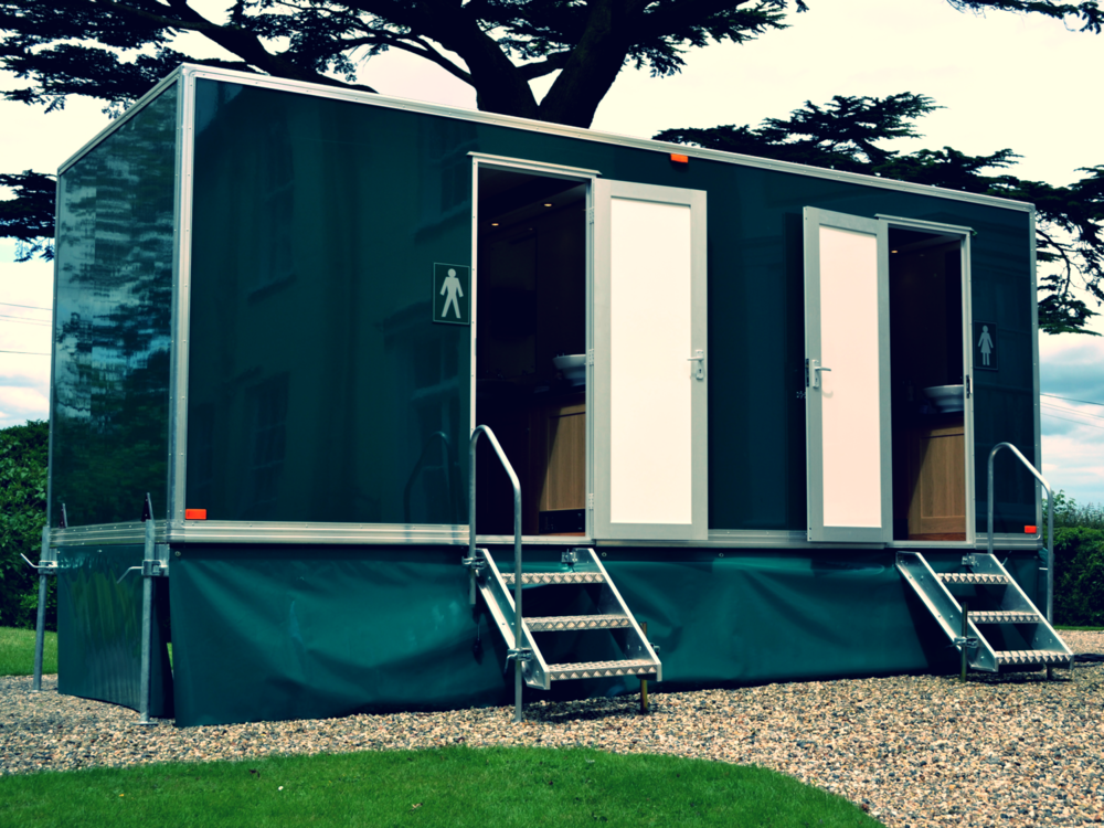 LUXURY mobile toilet HIRE ESSEX
