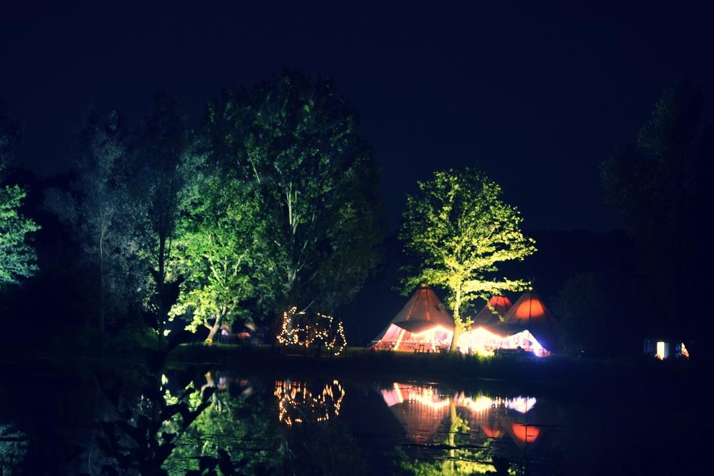 Lighting up Chalkney Water Meadow