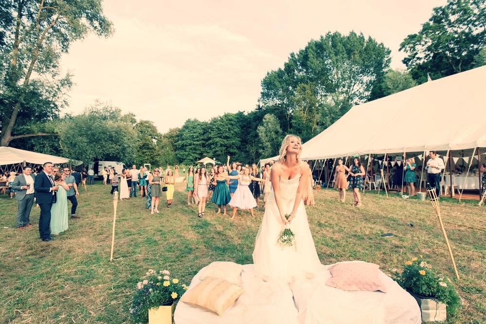 A wild wedding