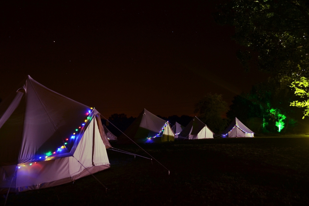 A Glamping village for your guests