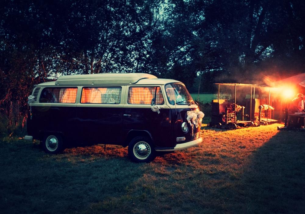 Alternative wedding car